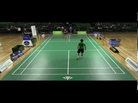 Carlton Irish Open - MS - N. Lau V Jonathan Harron[3/4]