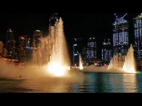Dubai Fountain Show/ Burj Khalifa  2019