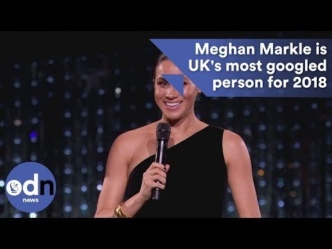 Meghan Markle is UK's most googled person for 2018