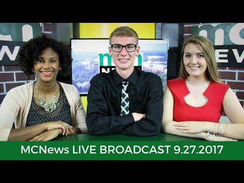 MCNews Live Broadcast -- 27 September 2017