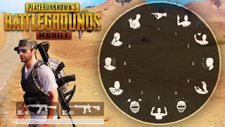 EMOTES SYSTEM IS COMING TO PUBG MOBILE | FOOTAGE