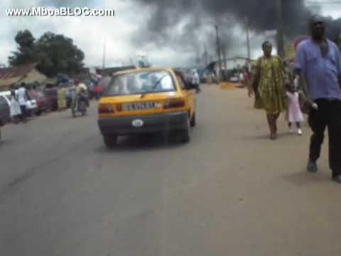 La catastrophe d'Obobogo  Yaoundé