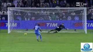 Supercoppa Italiana 2014 - Juventus-Napoli 2-2 (7-8) - Immagini RAI HD - Sintesi e Rigori