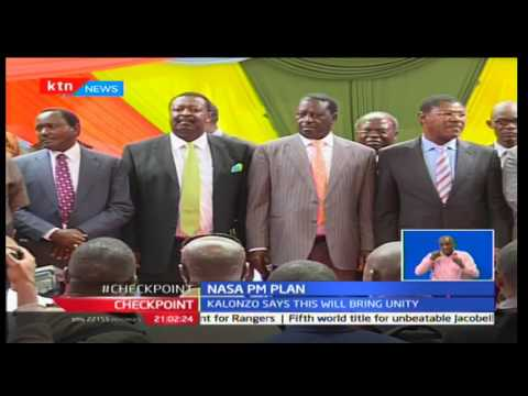 Wiper leader Kalonzo Musyoka now rooting for the creation of prime minister's position