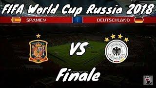 FIFA 18 | FIFA World Cup Russia 2018 | Finale | Spanien vs Deutschland