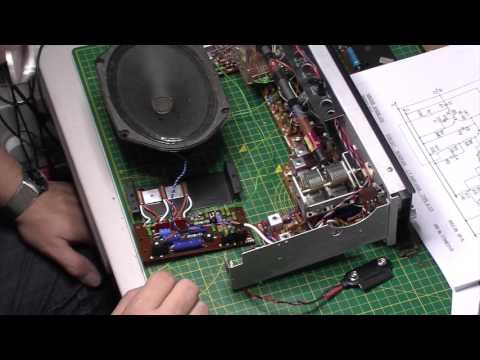 Hacker Super Sovereign RP75 transistor radio Part 8: Problems with the amp