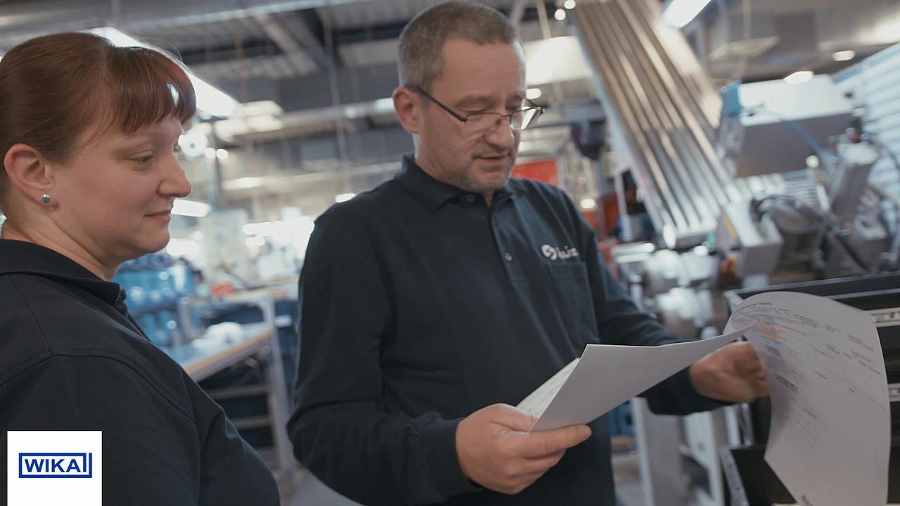 Zerspanungsmechaniker bei WIKA INTEC | Berufseinstieg in der WIKA Gruppe