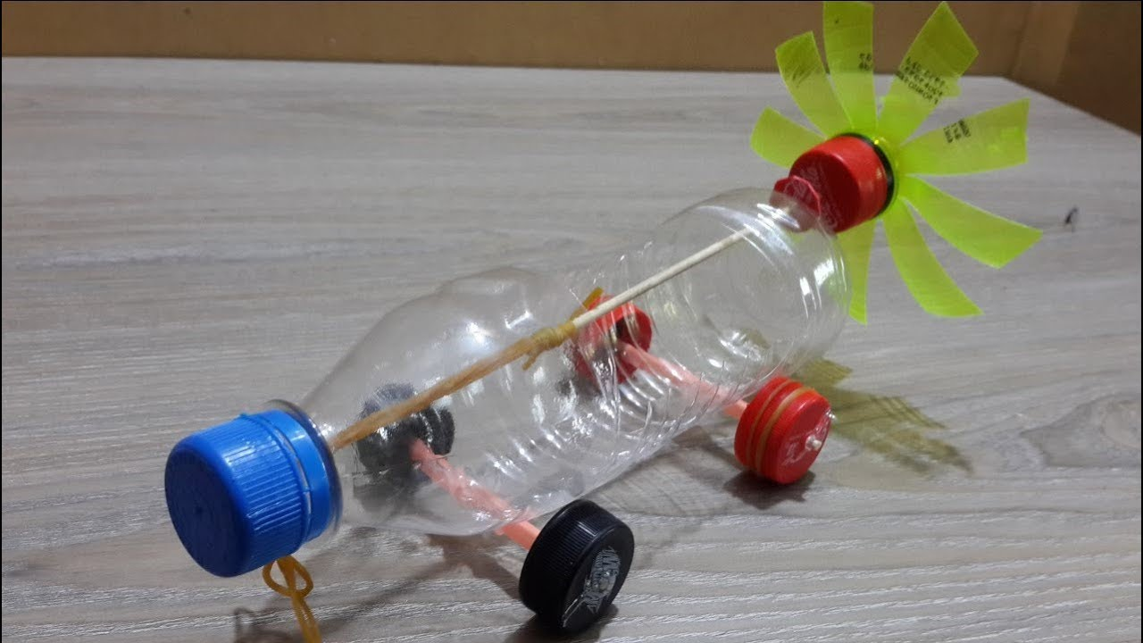 DIY Homemade Plastic Car With 3 Unique Life Hacks Project