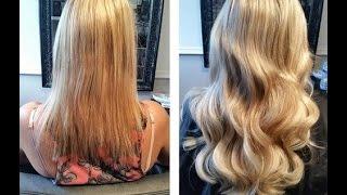 Tutorial Hair extensions Easiest Way