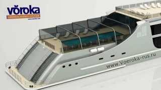 Раздвижное панорамное остекление для кораблей