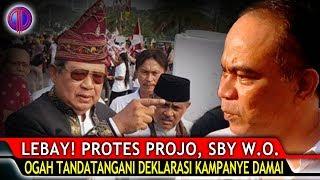 Lebay!!! Pr0tes Pro-Jo, SBY W.O.! Ogah Tandatangani Deklarasi Kampanye Damai