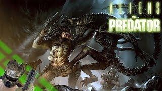 Aliens vs Predator [2010][Прохождение] #1 Крошим ксеноморфов