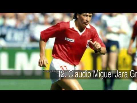 Los mejores delanteros costarricenses de la historia