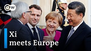 Deals and diplomacy: European leaders meet China's Xi | DW News