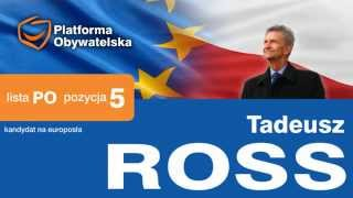 Tadeusz Ross - election spot: Professional qualifications