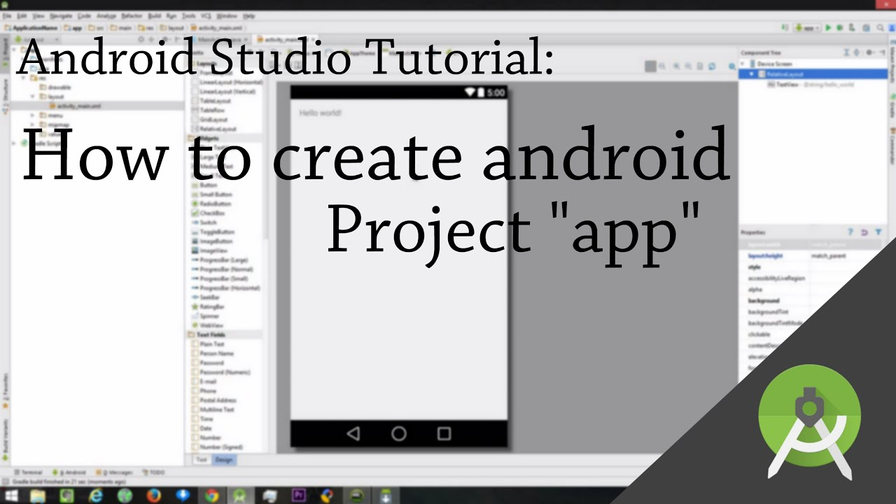 how to make pdf android app