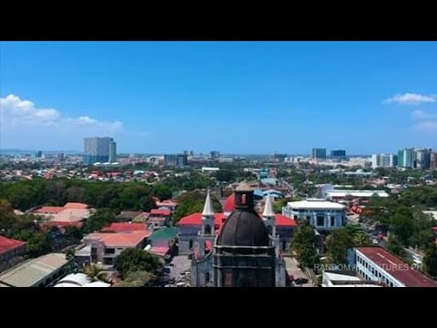 Iloilo city 2019 aerial view