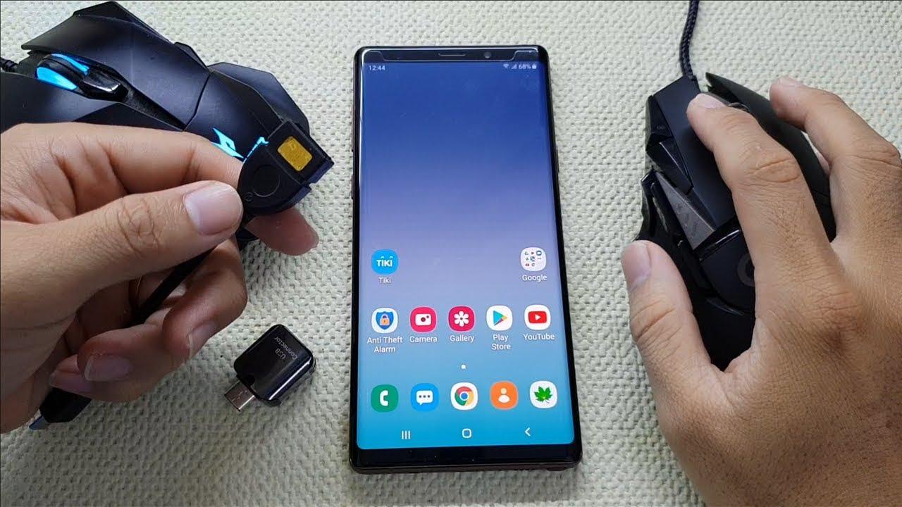 Những mẹo hay khi dùng chuột điều khiển điện thoại Android