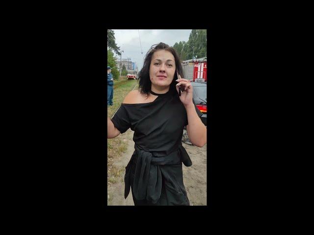 Участница аварии в Липецке на улице Краснозаводской