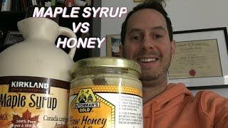 Robert Horovitz   Maple Syrup VS Honey   Don't Heat Your Sweetener!!!