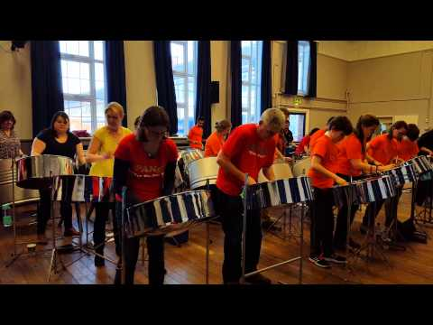 Pan-Jam Cambridge 2016 - the Ensemble