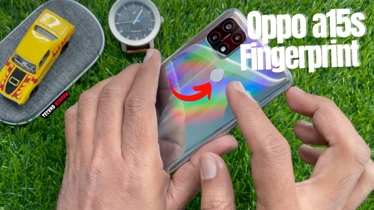 How to Set Fingerprint Lock in OPPO A15s