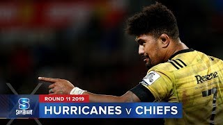 Hurricanes v Chiefs | Super Rugby 2019 Rd 11 Highlights