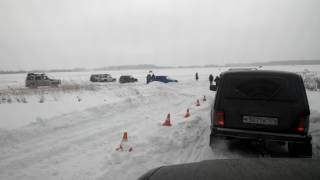 Рав4 в снегу