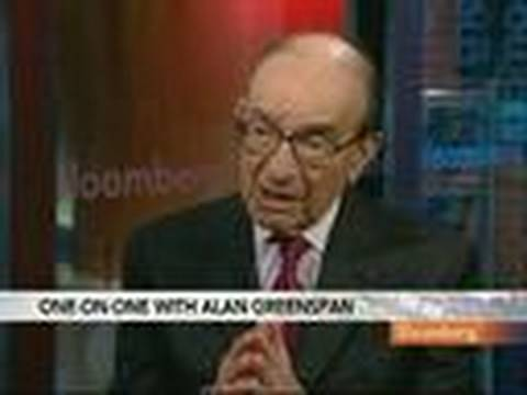 Alan Greenspan Discusses U.S. Jobless Rate, Treasuries: Video