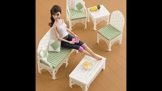 Plastic Canvas Doll Furniture Patterns
