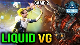 LIQUID vs VG -MIRACLE DOOM CARRY ESL One Birmingham 2018 GAME 2