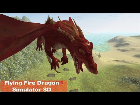 🐉Flying Fire Drake Simulator 3D-By GT Race Games-📱Android