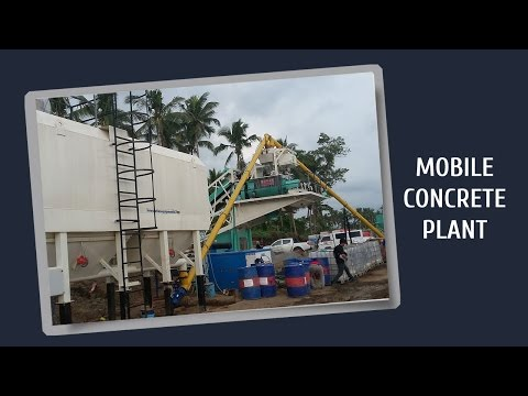 Concrete Mix Plant | Mobile Batch Plant video