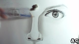 Como desenhar #4 - nariz - how to draw nose [grafite]