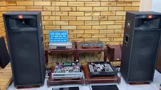 Test bộ KARAOKE CHUYÊN NGHIỆP Loa JBL 2 bass FULL 40CM Tiến Dũng Audio Sài Gòn