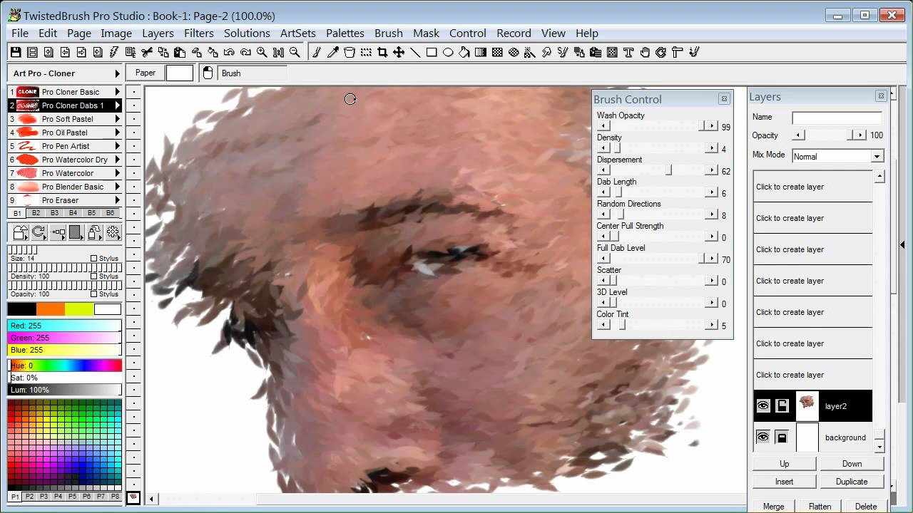 TwistedBrush Tutorials: Best free drawing software