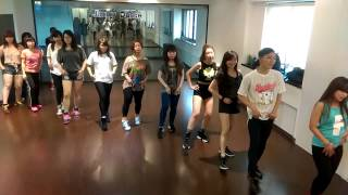 EXID 'Ah Yeah' dance cover 1_jimmy dance fufu老師
