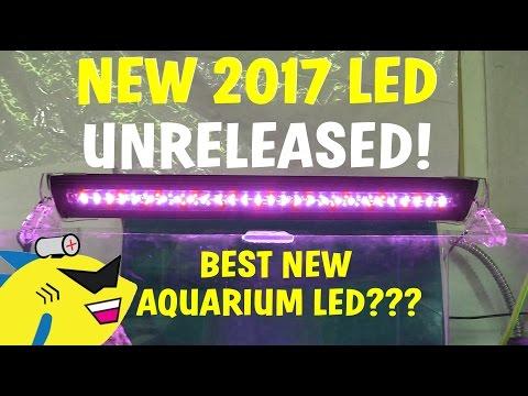 BEST NEW AQUARIUM LED? UNRELEASED FINNEX SE UNBOXING