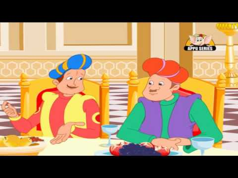 Akbar and Birbal Tales in Hindi - Akbar and Birbal are Greedy