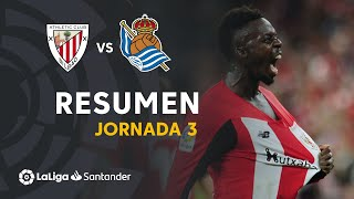 Resumen de Athletic Club vs Real Sociedad (2-0)