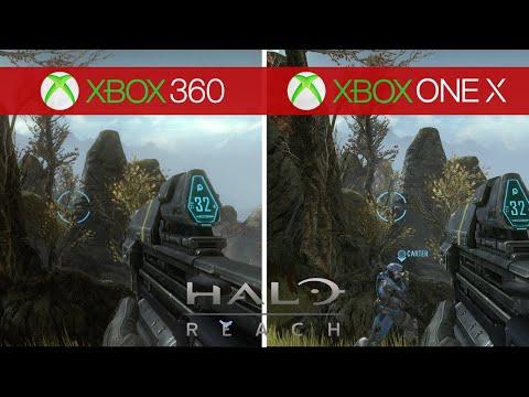 Halo Reach Comparison - Xbox 360 (Original) Vs. Xbox One X (Remaster)