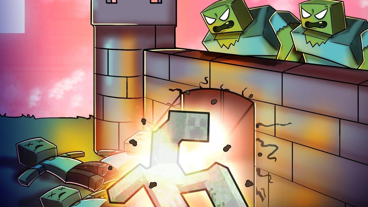 Minecraft mutant zombie army vs mutant creeper army - Minecraft zombie vs creeper ...