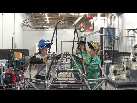Hot Wheelz - RIT's All-Female Electric Race Car Team