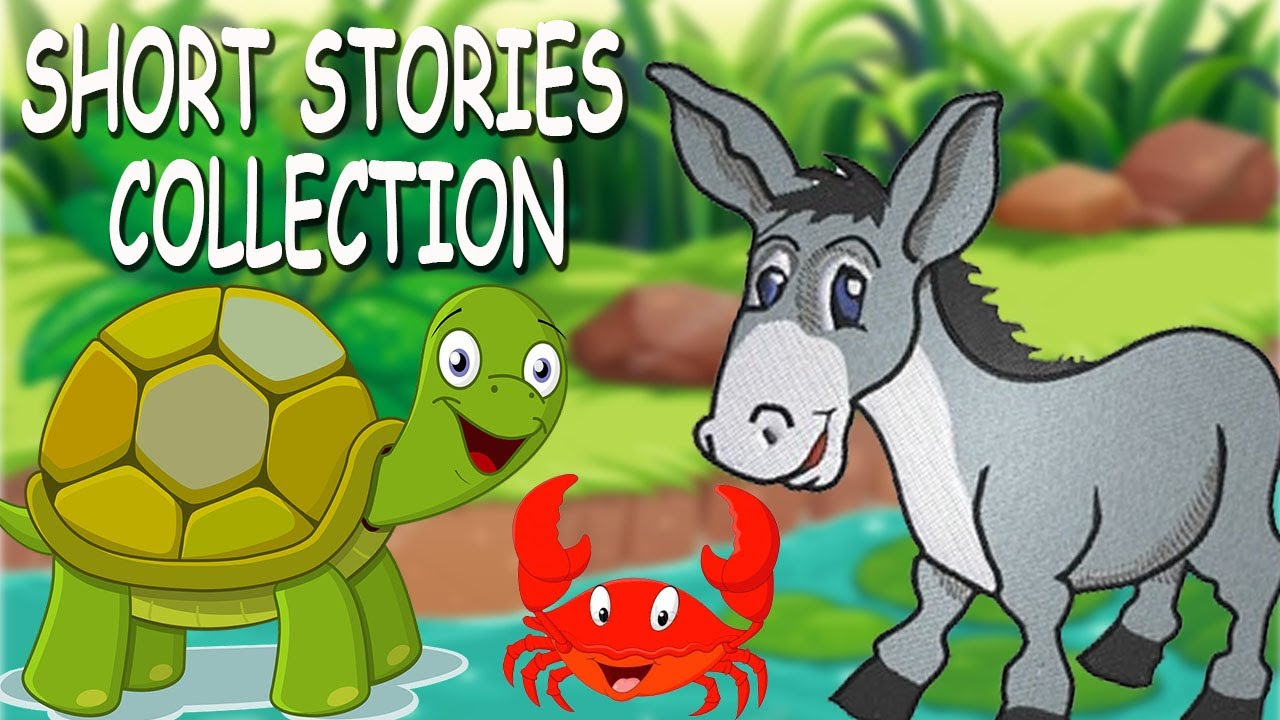 Short Stories Collection | Best 5 English Short Stories For Children with  Morals | Story Time - Kids