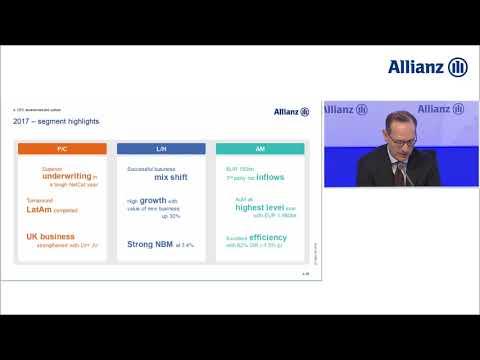 Bilanzmedienkonferenz der Allianz SE zum Geschäftsjahr 2017