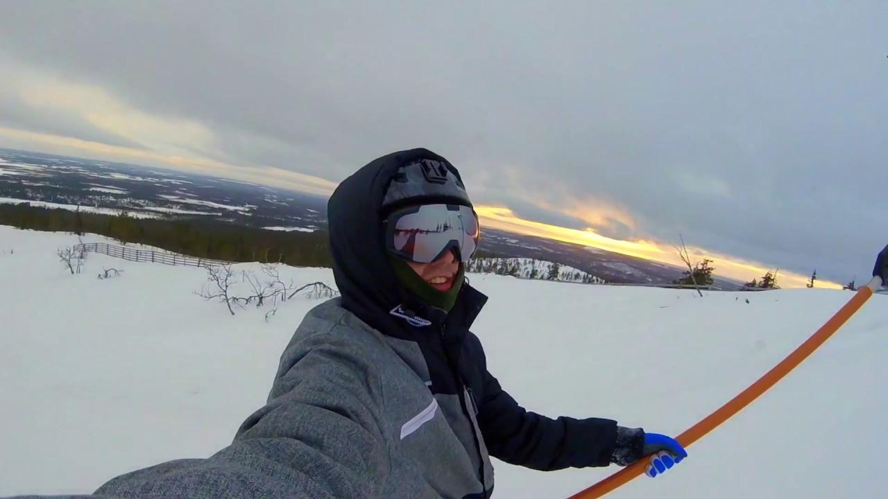 Snowboarding @ Ylläs