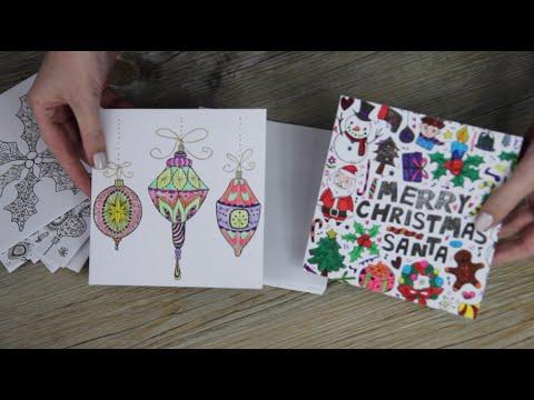 Kerstkaarten Om In Te Kleuren Van Action Eerste Indruk Lisanne