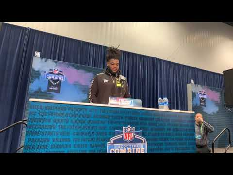 Solomon Kindley Georgia OT Interview At 2020 NFL Combine