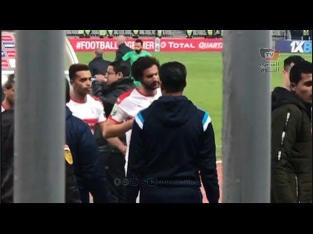 جماهير الزمالك تهاجم لاعبي الزمالك عقب انتهاء مباراة نصر حسين داي