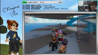 ROBLOX | COME PLAY! Playing with Subscribers | Minecraft 14/10 Account GIVEAWAY | S2 Frannie, Kids & Cia